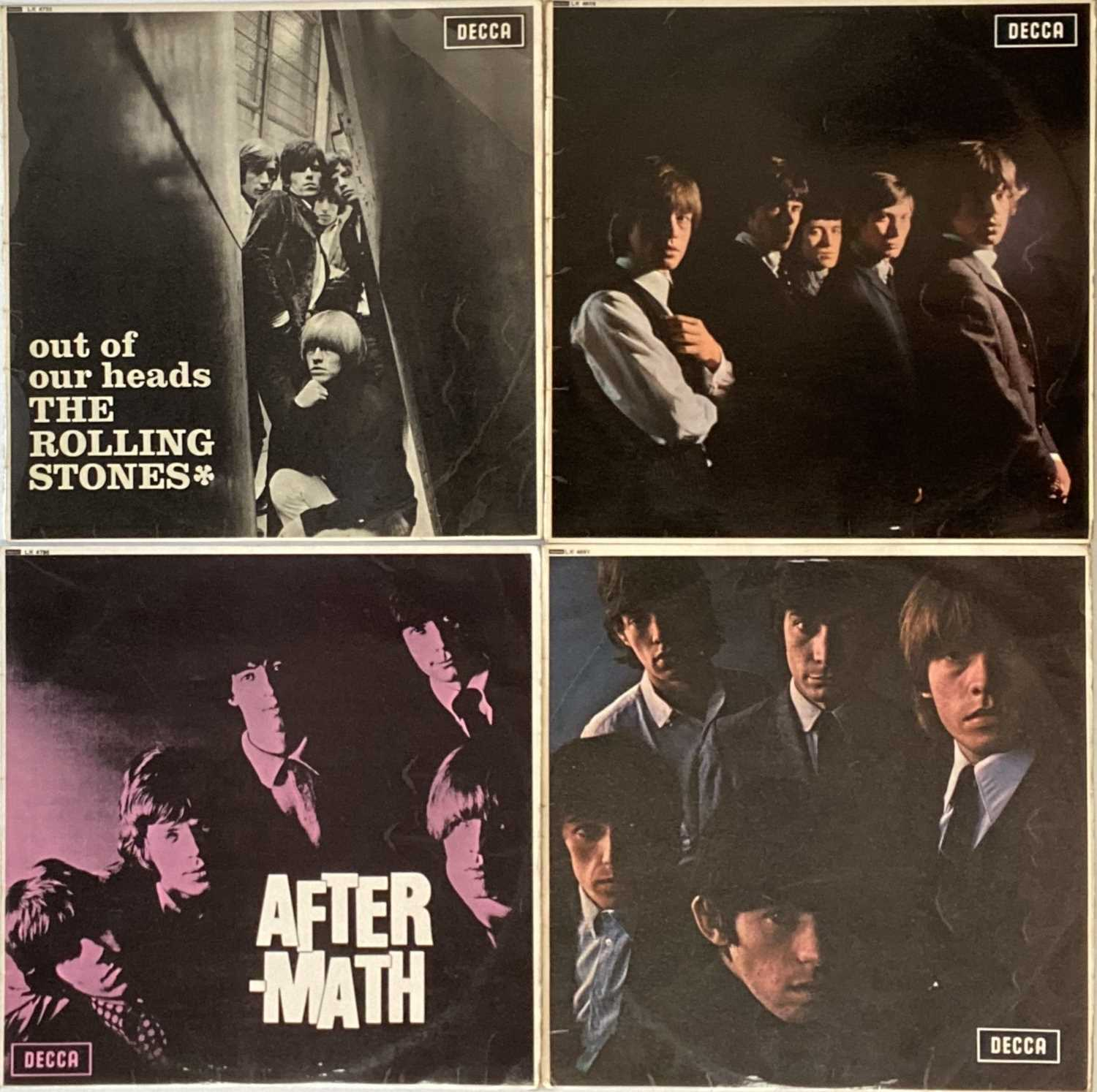"""THE ROLLING STONES - LPs/ 7"""" PACK"""