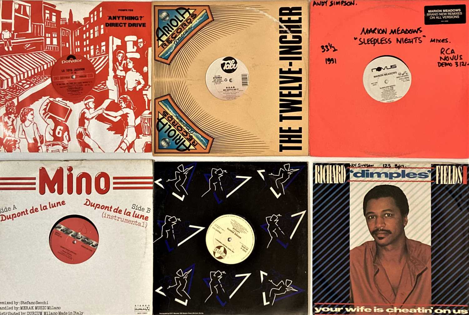"""DISCO/SOUL/HIGH NRG - 12"""" COLLECTION. - Image 5 of 5"""