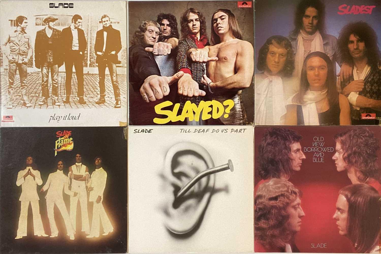 SLADE/ STATUS QUO - LP COLLECTION