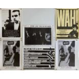 INDIE AND NEW WAVE POSTERS - ECHO AND THE BUNNYMEN ETC.