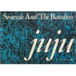 SIOUXSIE AND THE BANSHEES JUJU ALBUM POSTER.