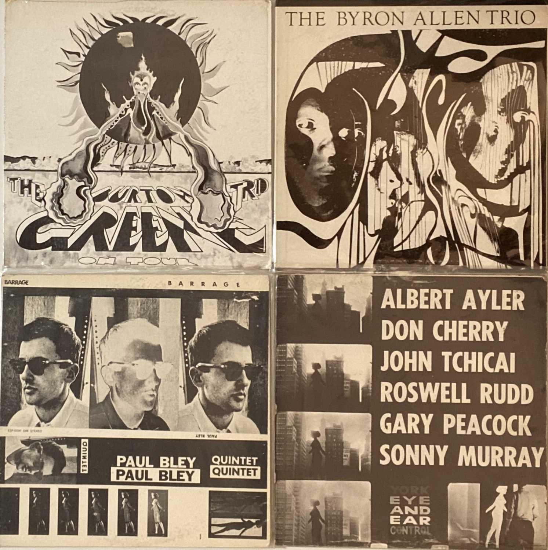 ESP DISK - FREE JAZZ RARITY LPs