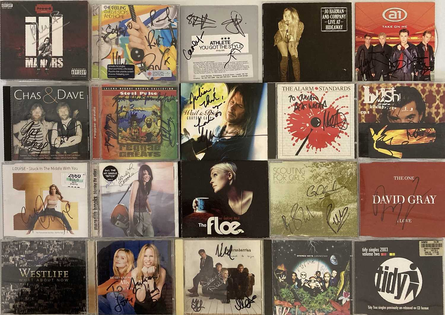 SIGNED CDS / LPS - THE CLASH / DEPECHE MODE AND MORE. - Image 10 of 12