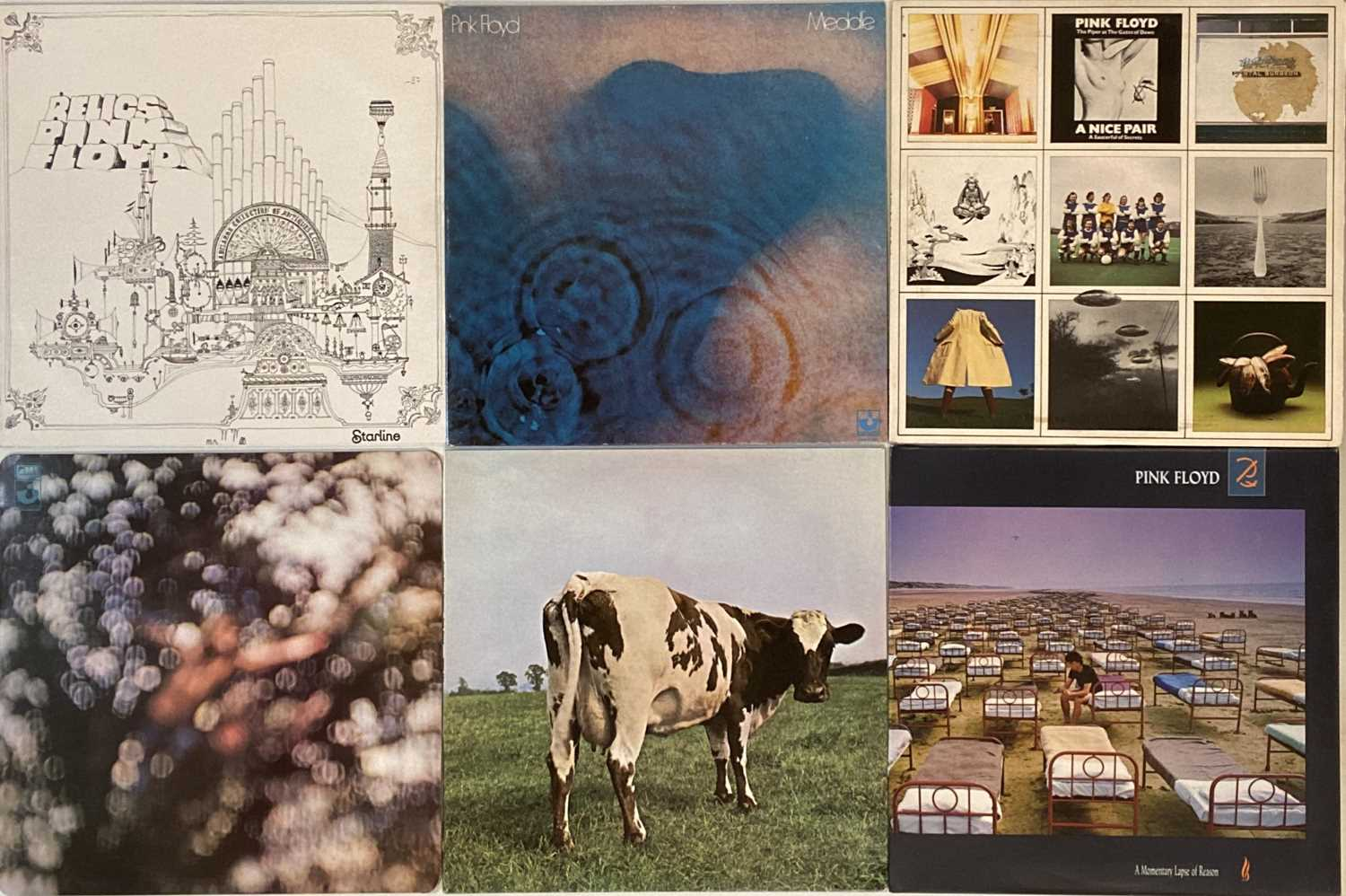 PINK FLOYD - LP COLLECTION - Image 2 of 2