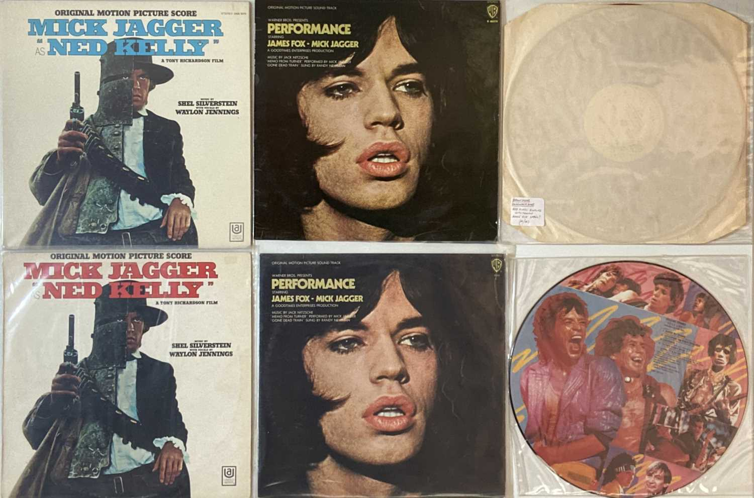 THE ROLLING STONES - PRIVATE LPs PLUS SOLO RELEASES - Image 2 of 3