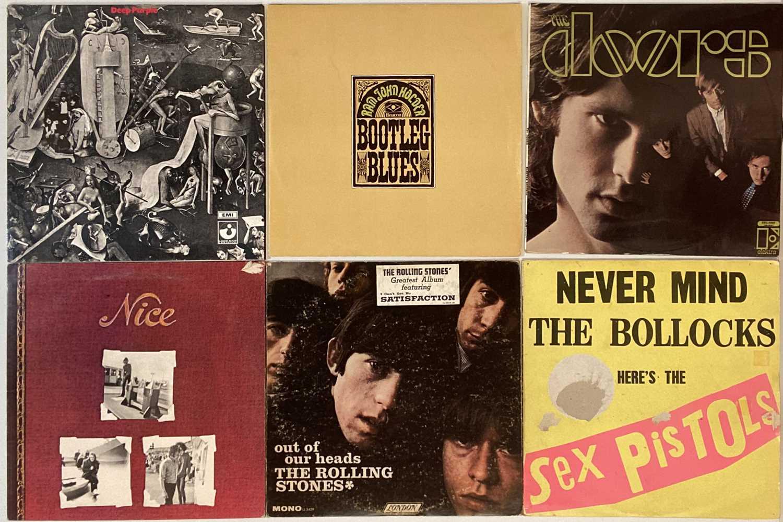 CLASSIC ROCK/HEAVY/PROG/PSYCH-ROCK LPs (WITH 'MILD' WARPING)