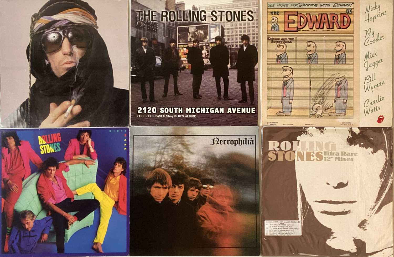 THE ROLLING STONES - PRIVATE LPs PLUS SOLO RELEASES