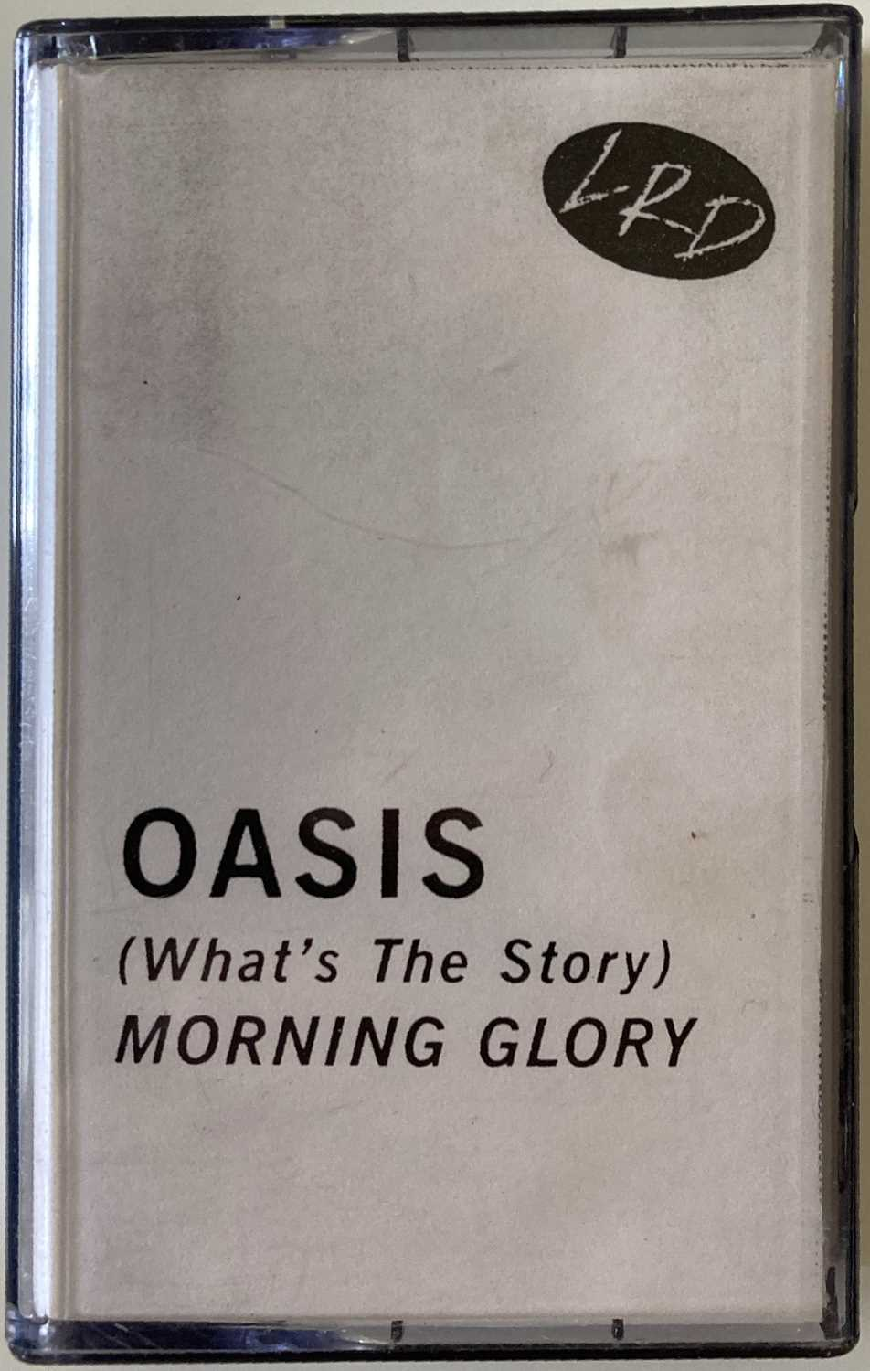 OASIS WHAT'S THE STORY 'LRD' PROMO CASSETTE.
