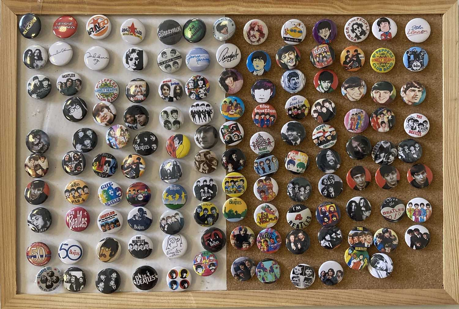 BEATLES BADGE COLLECTION. - Image 4 of 4