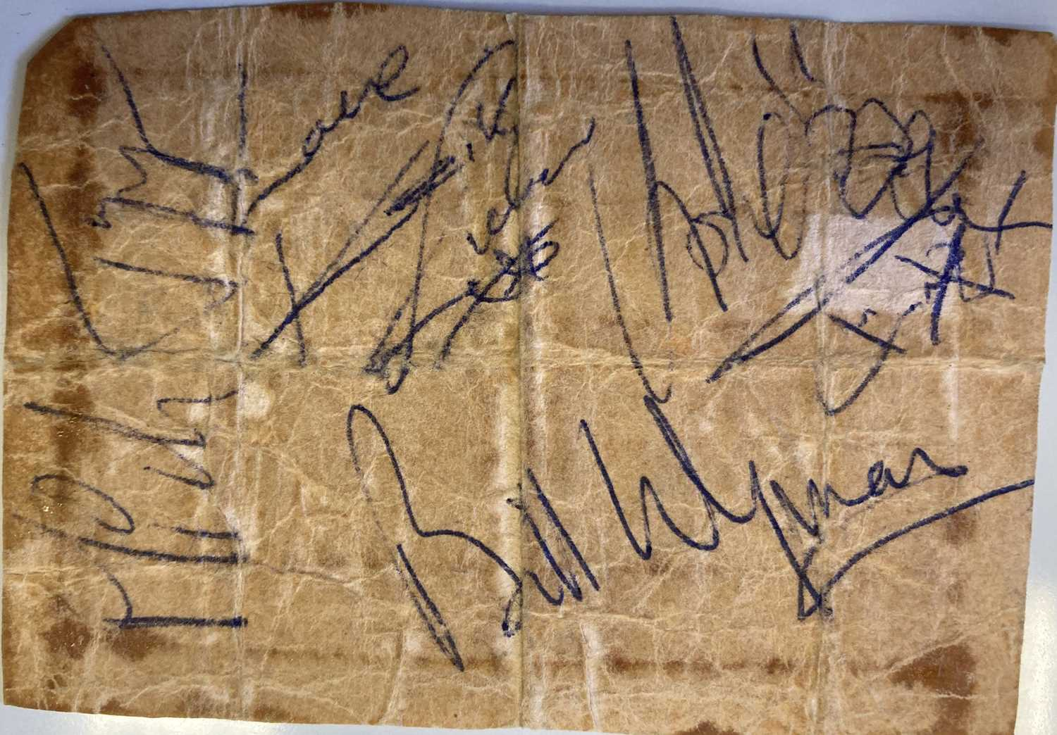 ROLLING STONES - SIGNED PAGE, - Image 2 of 2