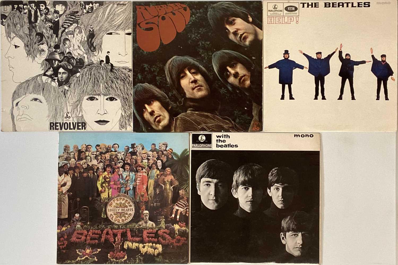 THE BEATLES - STUDIO LPs (CLEAN EARLY/ORIGINAL COPIES)