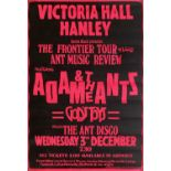 ADAM AND THE ANTS CONCERT POSTER.