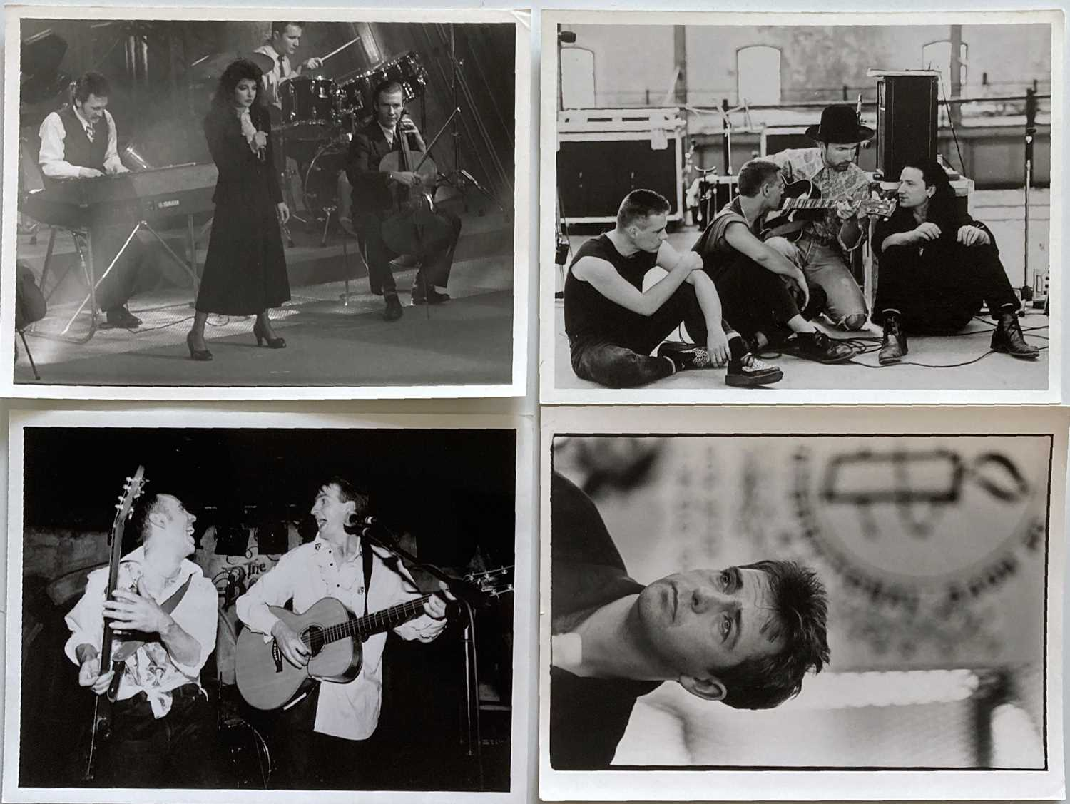 MUSIC PHOTOGRAPHS - CLASSIC ROCK AND POP - U2 / KATE BUSH AND MORE. - Image 3 of 7