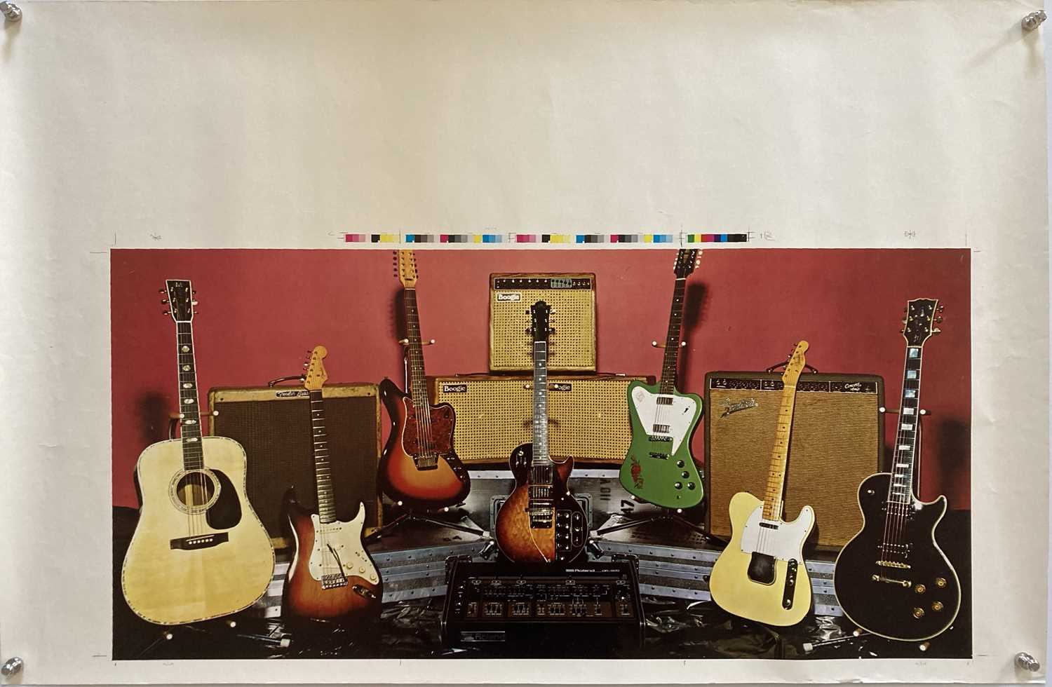 GUITAR AND AMPLIFIERS - PROMOTIONAL POSTERS. - Image 2 of 2
