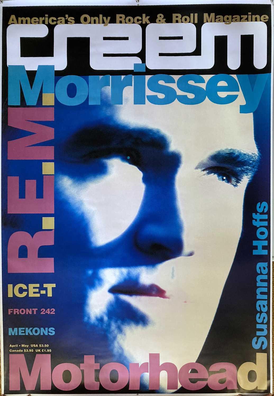 MORRISSEY / REM / ICE-T - 1991 CREEM MAGAZINE POSTER PRINT.