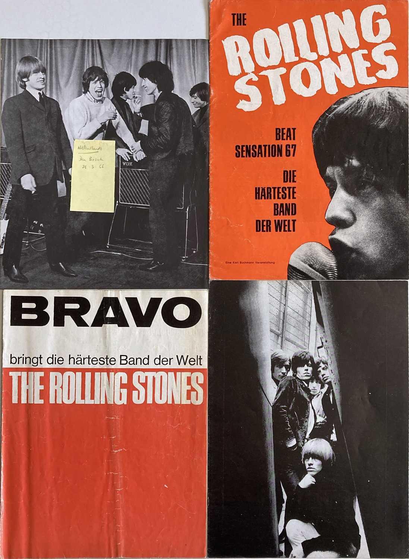 ROLLING STONES PROGRAMMES - EUROPE DATES 1966/67.