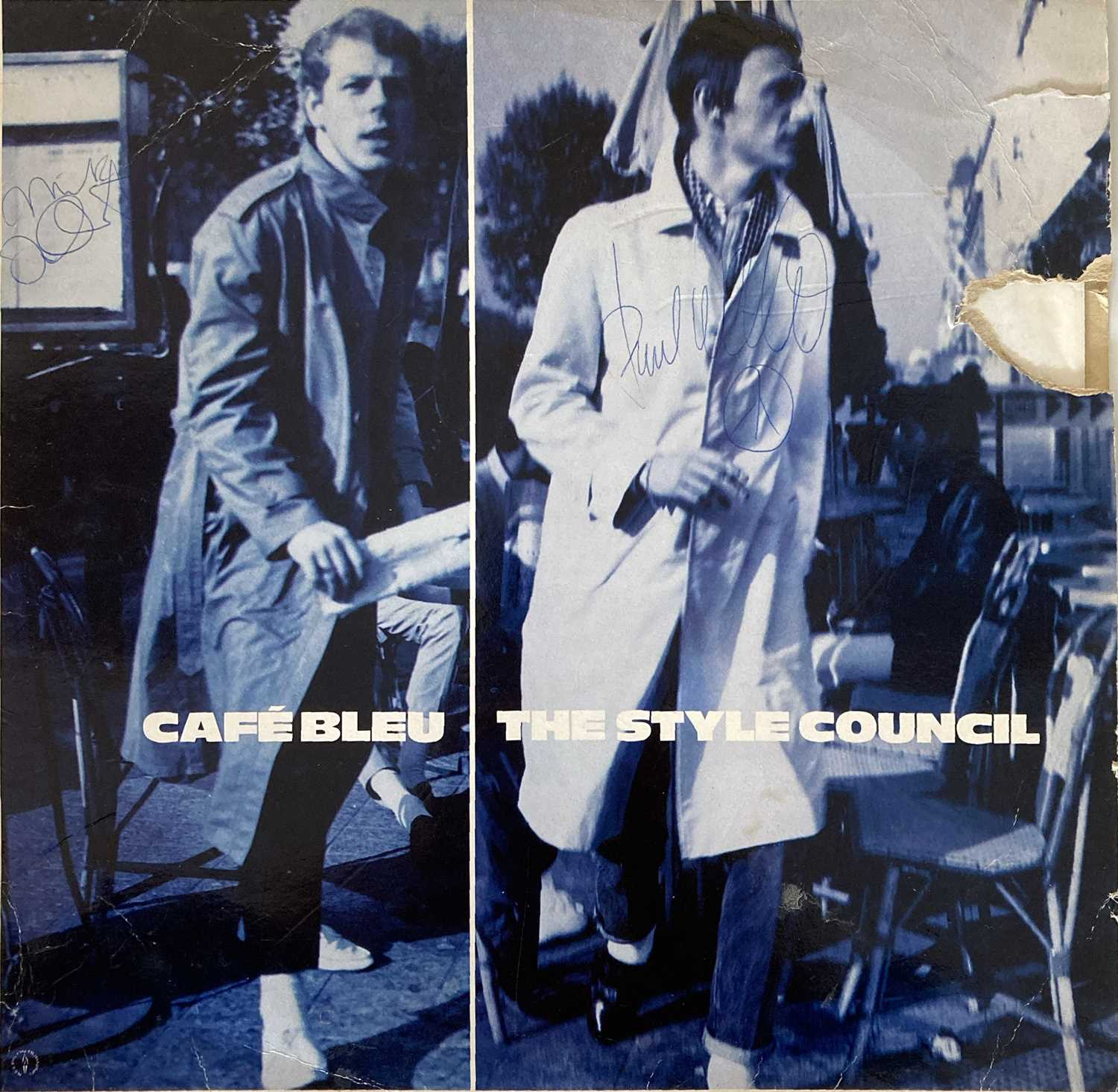 THE STYLE COUNCIL - SIGNED LPS.