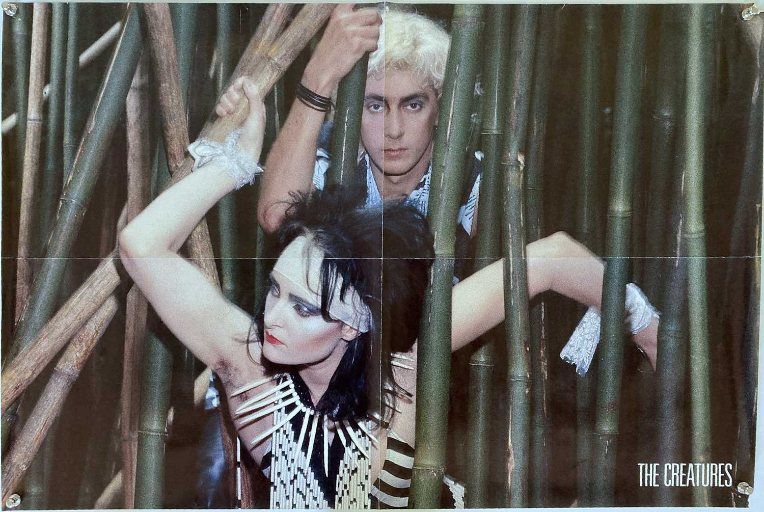 SIOUXSIE AND THE BANSHEES / THE CREATURES POSTERS. - Image 2 of 2