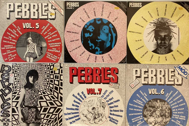 PEBBLES (COMPILATION) LPs.