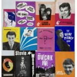 1960S CONCERT PROGRAMMES - SOME WITH TICKETS.