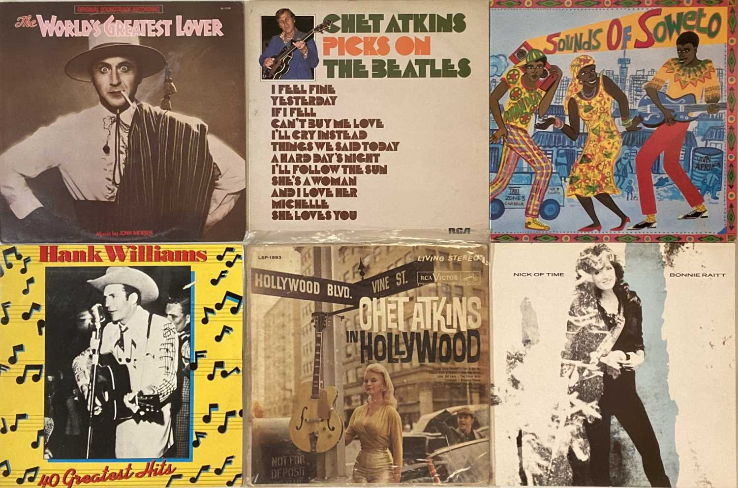 ROCK N ROLL/ JAZZ/ GUITAR SPECIALISTS - LPs - Image 5 of 5