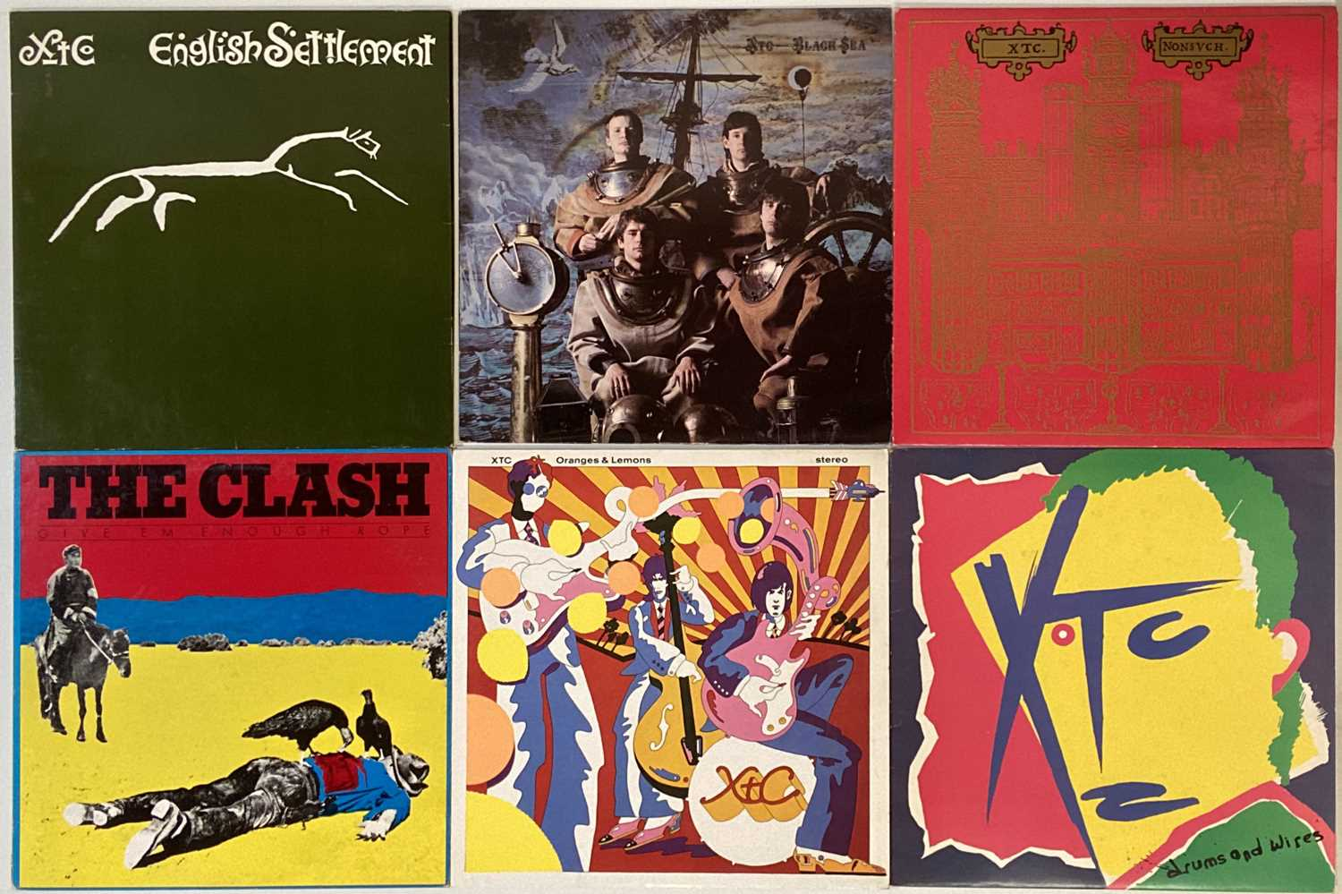 PUNK/INDIE/NEW-WAVE/COOL POP – LPs - Image 2 of 5