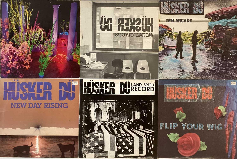 HUSKER DU - LPs