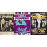 EUROPEAN CONCERT POSTERS - THE DAMNED / SIOUXSIE AND THE BANSHEES ETC.