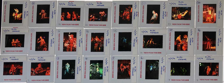 AC/DC PHOTO TRANSPARENCIES. - Image 13 of 17