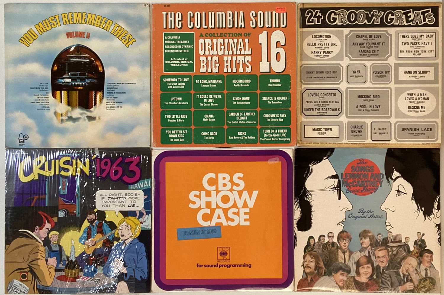 ROCK/ POP/ ROCK AND ROLL - COMPILATION - LPs - Image 3 of 5