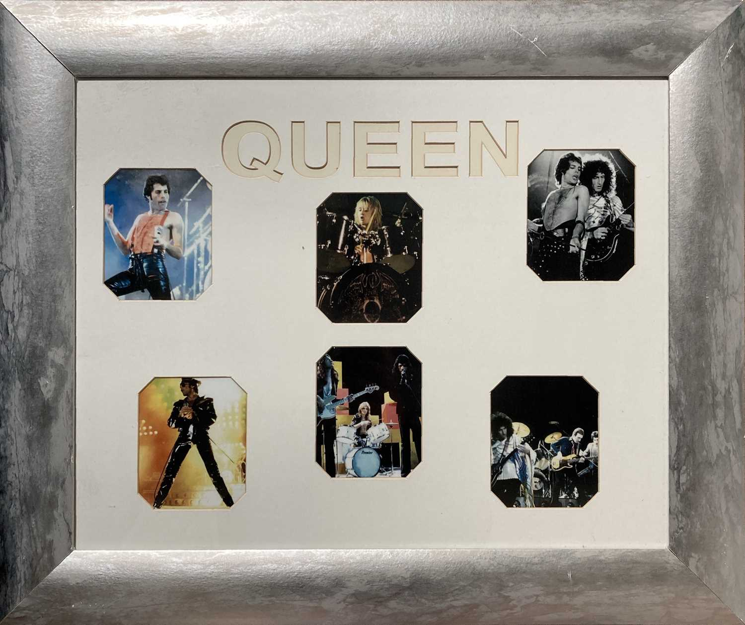 QUEEN - SHOP DISPLAYS / FRAMED ITEMS. - Image 2 of 4