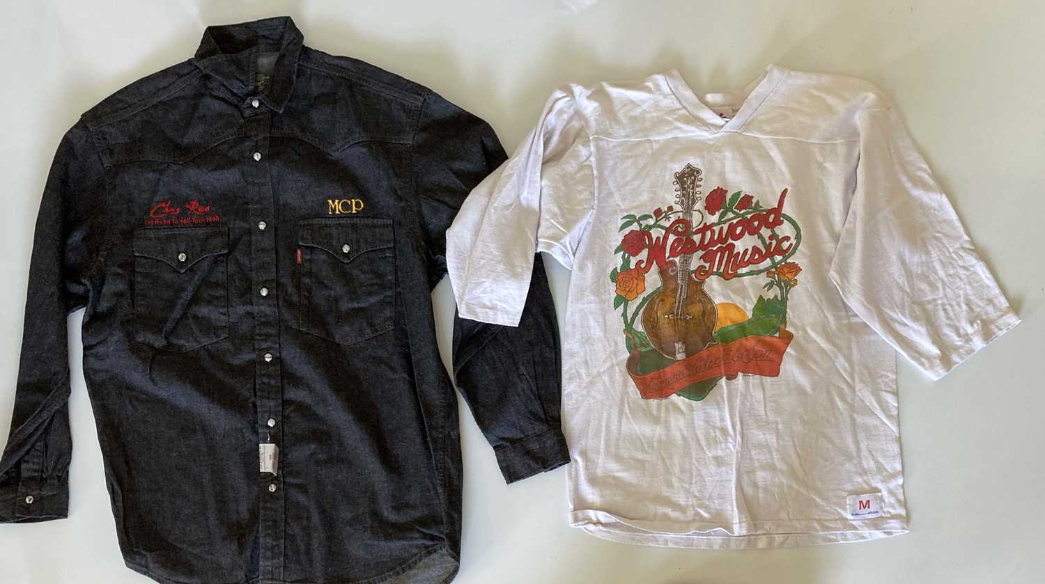 MUSIC CLOTHING - ONCE OWNED BY ANDY FAIRWEATHER LOW. - Image 4 of 5