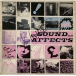 THE JAM - SOUND AFFECTS SIGNED LP.