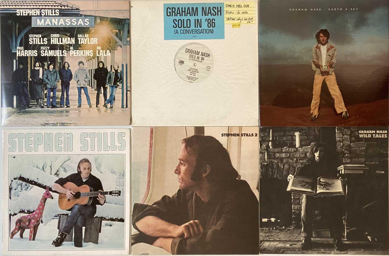 CROSBY, STILLS, NASH & YOUNG - LPs