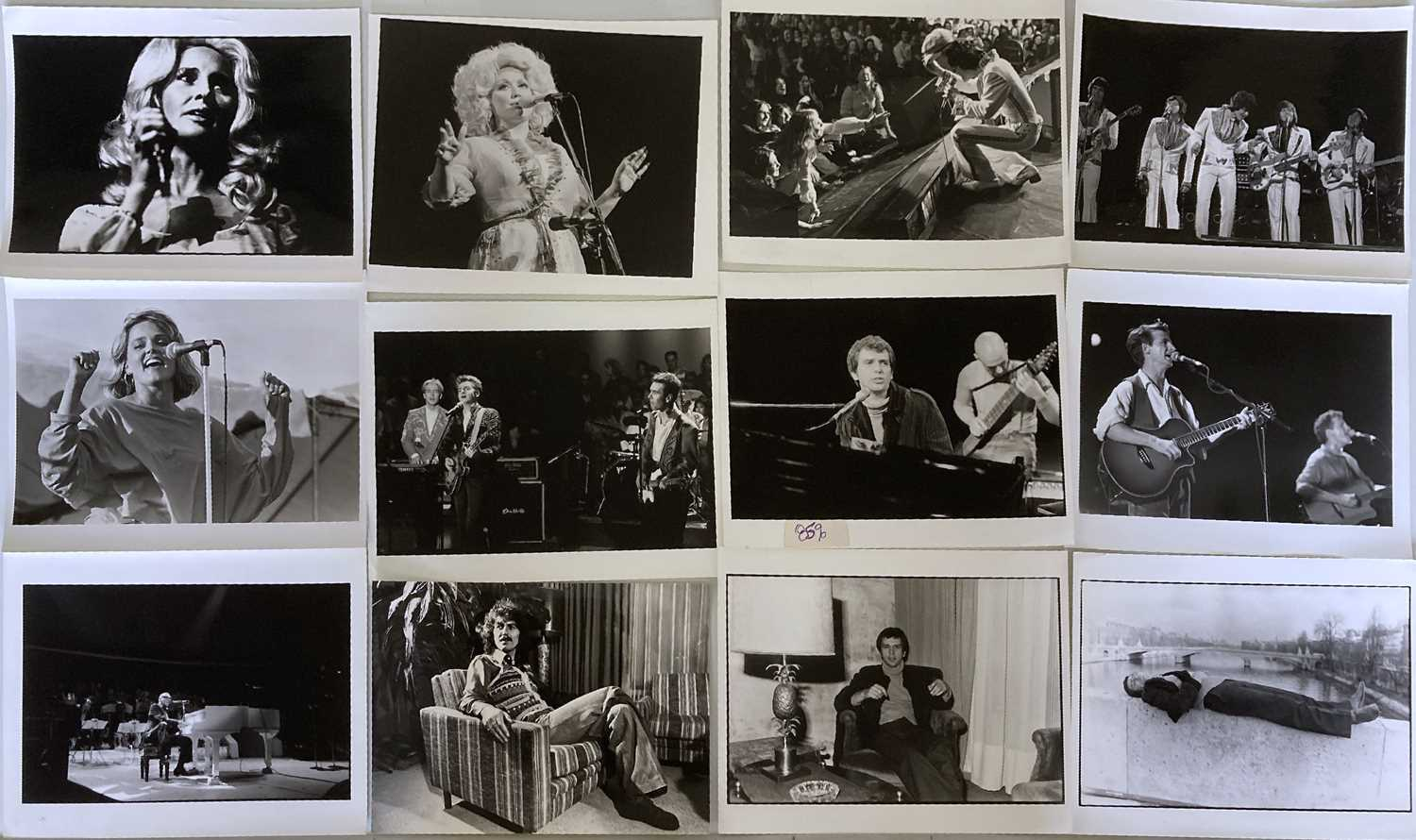 MUSIC PHOTOGRAPHS - CLASSIC ROCK AND POP - U2 / KATE BUSH AND MORE. - Image 5 of 7
