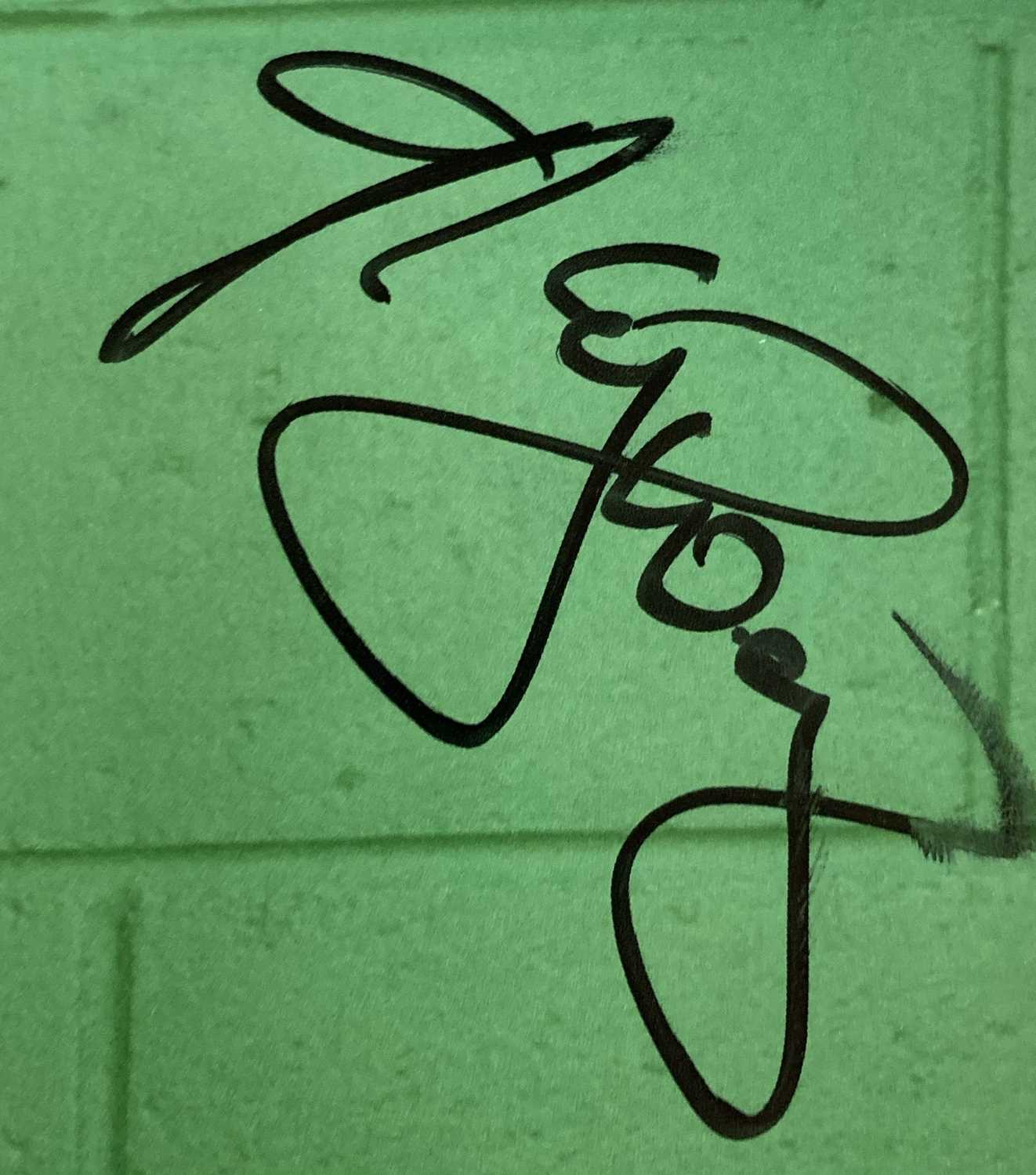 PUNK / NEW WAVE SIGNED ITEMS. - Image 4 of 9