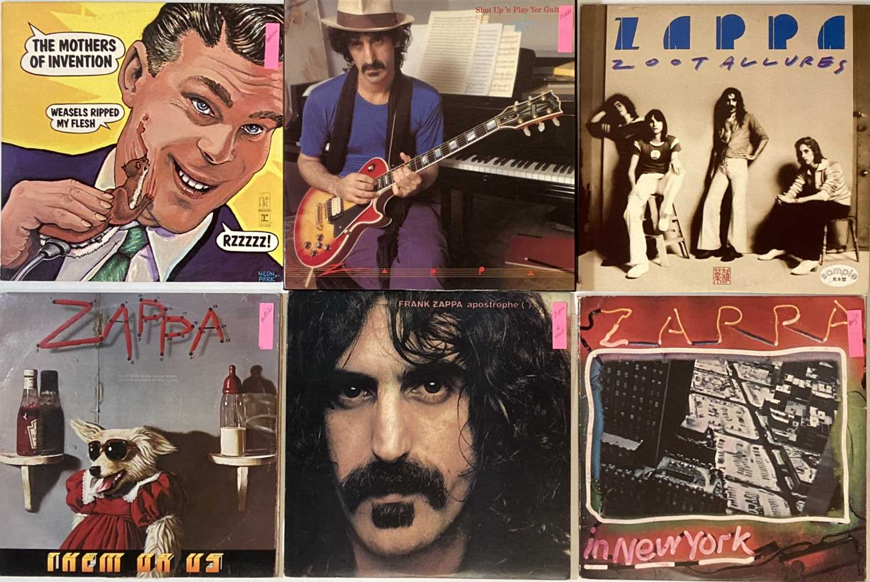 "FRANK ZAPPA - OVERSEAS/PRIVATE PRESSING LPs/7"""