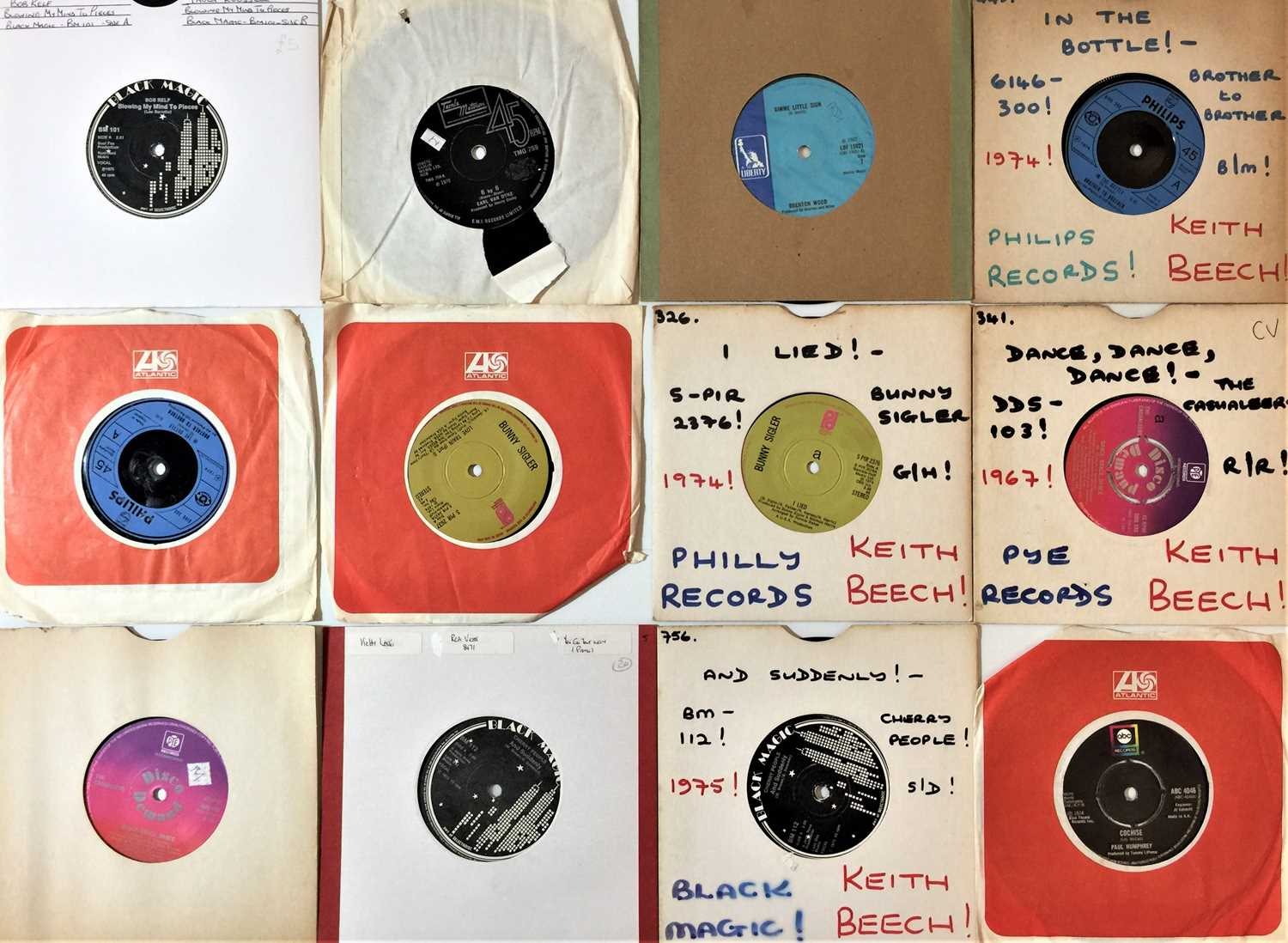 """60s/ 70s SOUL/ NORTHERN/ MOTOWN/ FUNK - 7"""" COLLECTION - Image 2 of 3"""