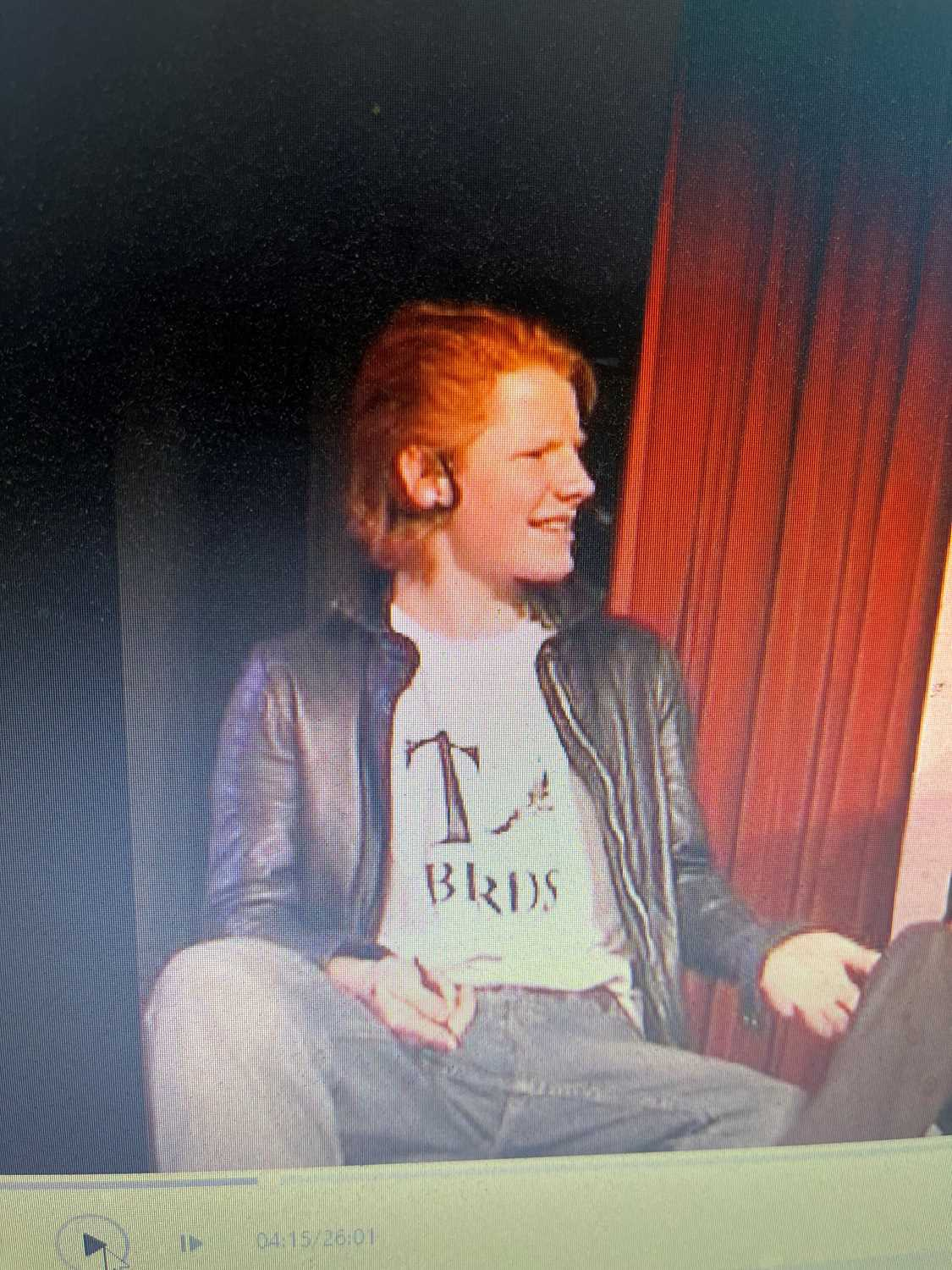 DVD FEATURING ED SHEERAN'S PERFORMANCE IN GREASE SCHOOL MUSICAL. - Image 3 of 4