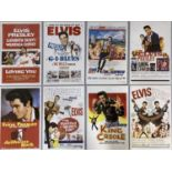 ELVIS PRESLEY LOBBYCARDS AND REPRODUCTION POSTERS.