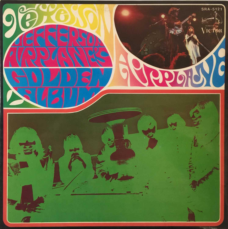 JEFFERSON AIRPLANE'S GOLDEN ALBUM LP (MARBLE VINYL - SRA-5121)