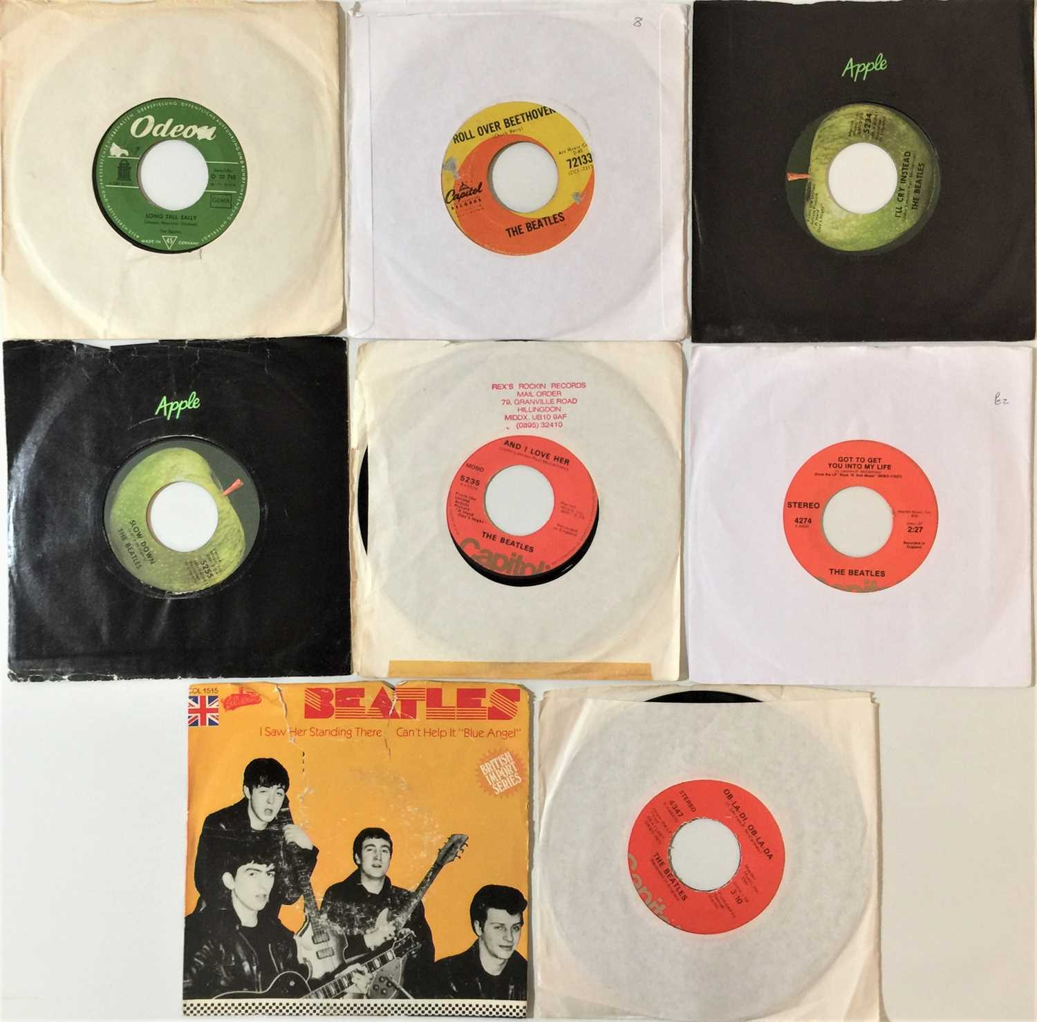 """THE BEATLES - 7""""/EPs - Image 2 of 2"""
