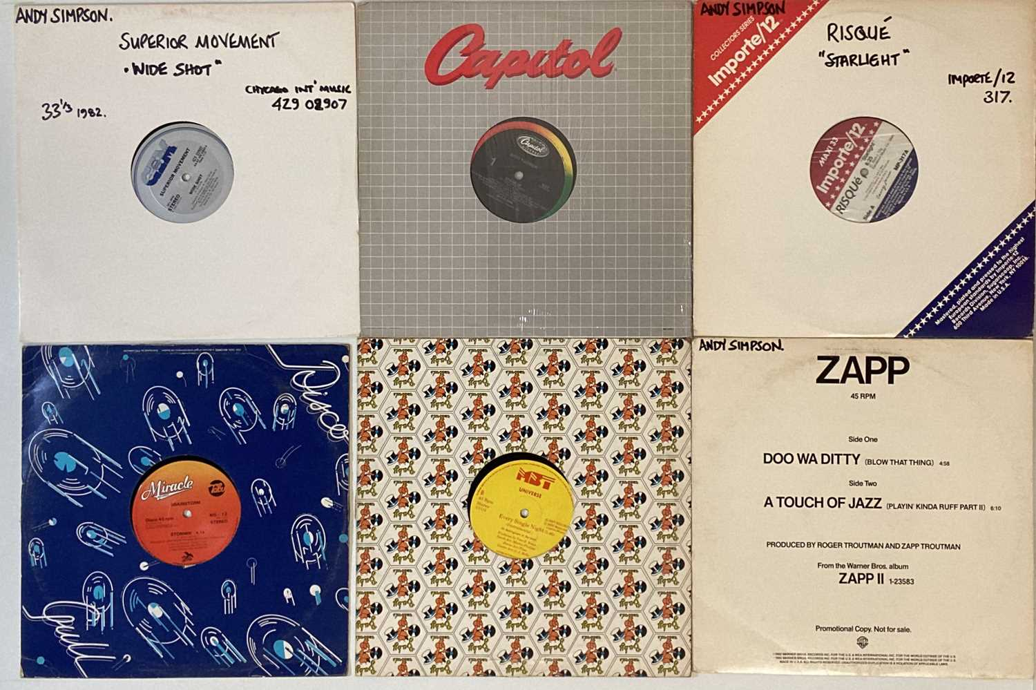 """SOUL/FUNK/DISCO/BOOGIE - 12"""" (WITH RARITIES) - Image 3 of 5"""