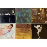 DAVID BOWIE/ GLAM - LPs