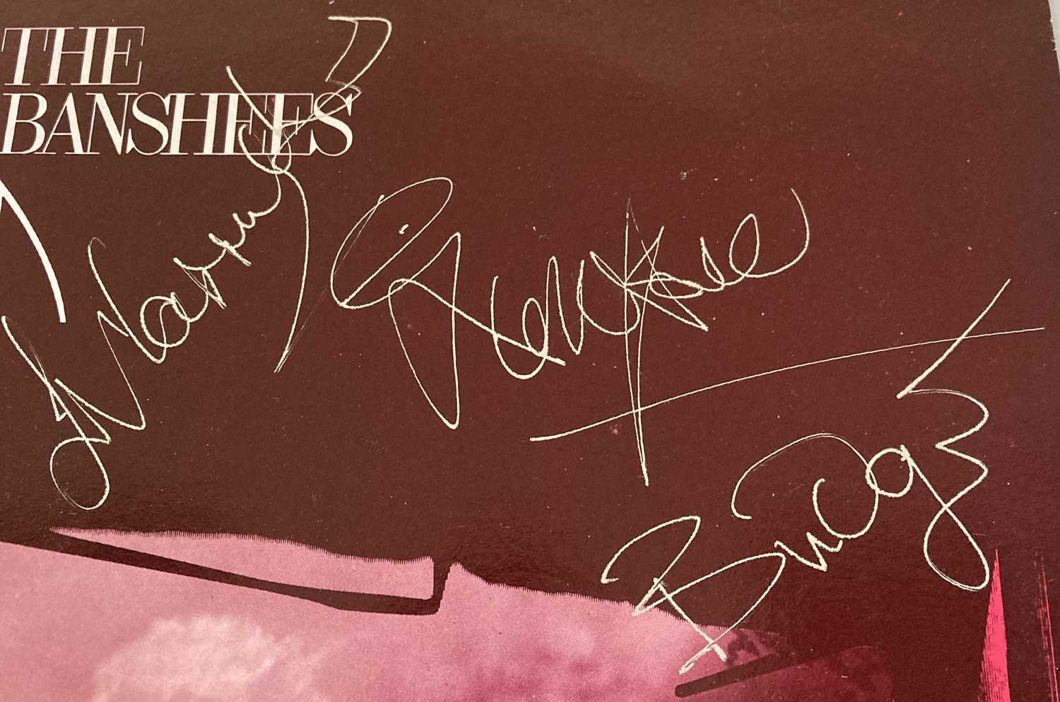 SIOUXSIE AND THE BANSHEES SIGNED LP. - Image 5 of 5