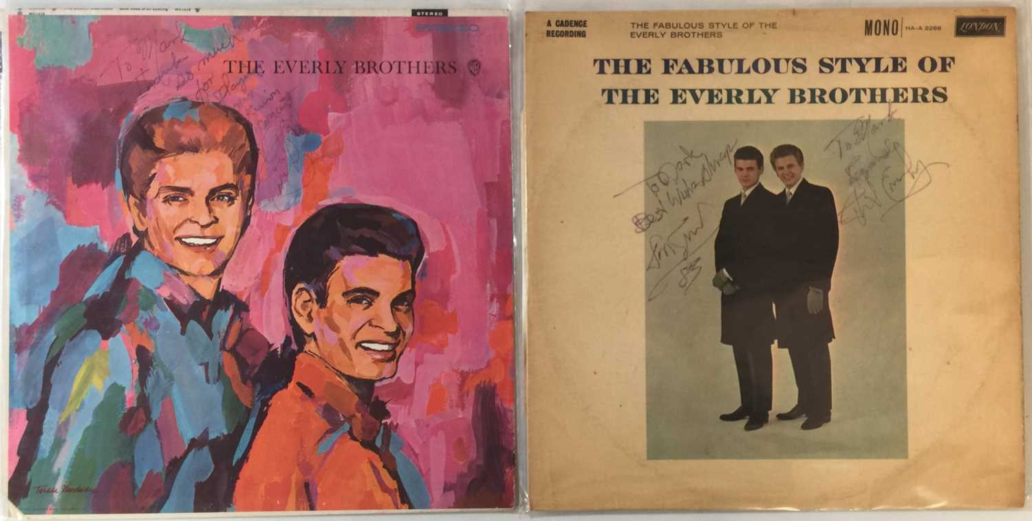 """THE EVERLY BROTHERS - LPs/ 7"""" (INC SIGNED LPs)"""