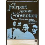 FAIRPORT CONVENTION / THE DOORS / ZAPPA POSTERS.