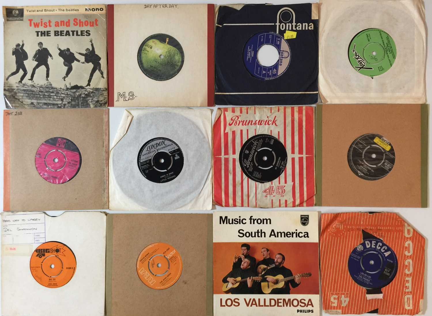 """60s/70s - 7"""" COLLECTION (POP/ROCK/SOUL) - Image 2 of 3"""