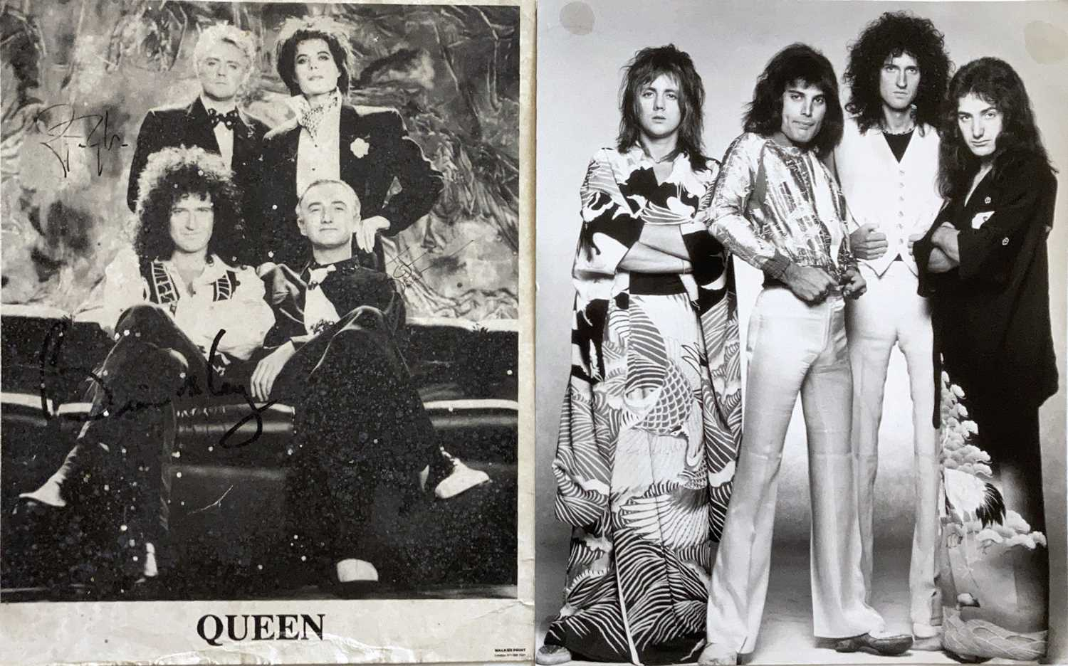 QUEEN SIGNED ITEMS. - Image 4 of 7