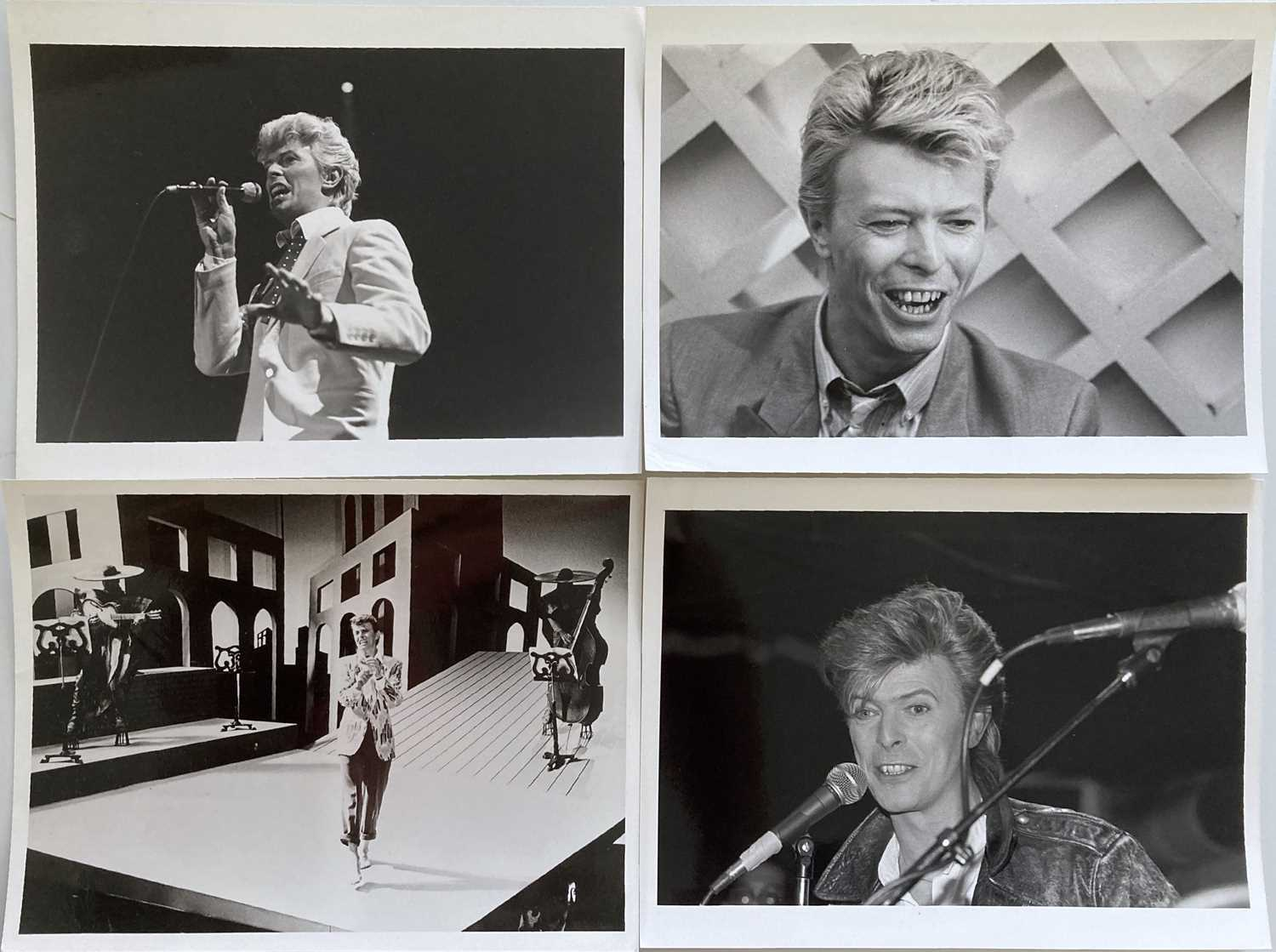 MUSIC PHOTOGRAPHS - DAVID BOWIE. - Image 3 of 3